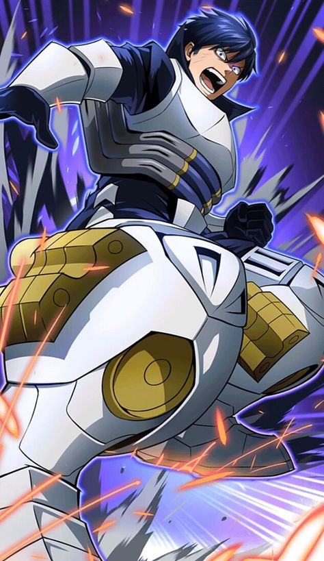 Name Tenya Iida Hero Name Ingenium Quirk Engine