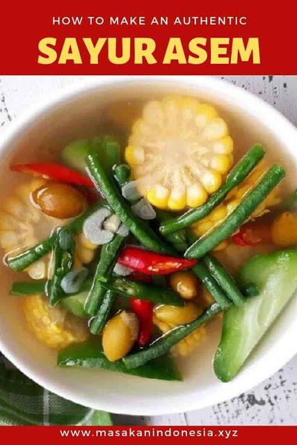 Pin Di Resep Makanan Indonesia