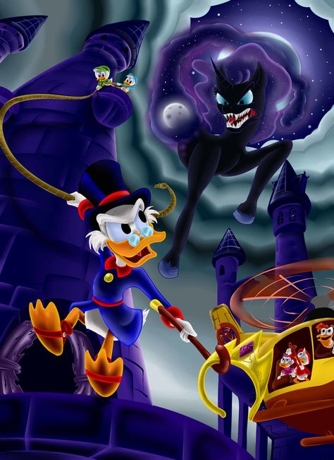 DuckTales: The curse of the Celestial crown by gizmo01 on DeviantArt
