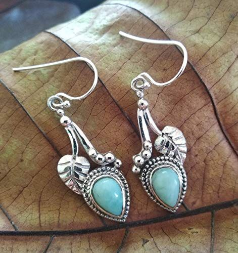 Details about  /925 Sterling Silver Earrings Dangle Drop Amethyst Valentine/'s Day Gift Her Mum