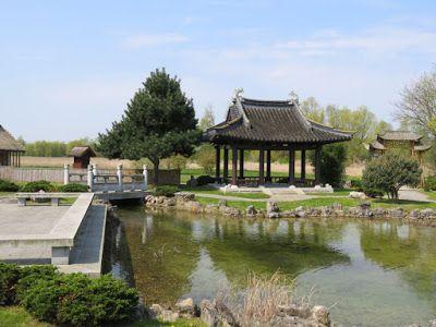 Iga Park Rostock Drohnen Video Rostock Chinesischer Garten Garten
