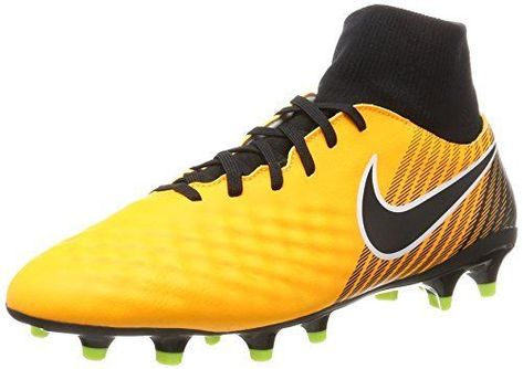 NIKE Men's Magista Onda II DF FG Soccer Cleat Laser Orange