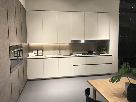 Cuisine Modele Lounge Finitions Corten Rosso Grigio Corda Opaco