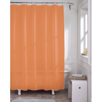 Heavy Guage Vinyl Single Shower Curtain Liner Color Rust In 2020