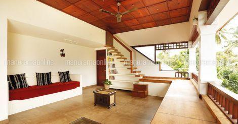Joju George House Balcony Chettinad House Kerala House Design