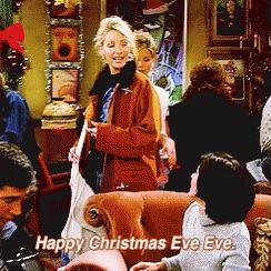 Pin By Clara On Reaction Pix Happy Christmas Eve Christmas Eve Friends Christmas Episode