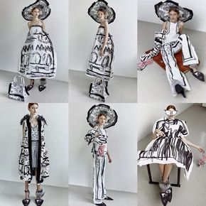 Edda Gimnes A/W never wear, but creatively interesting