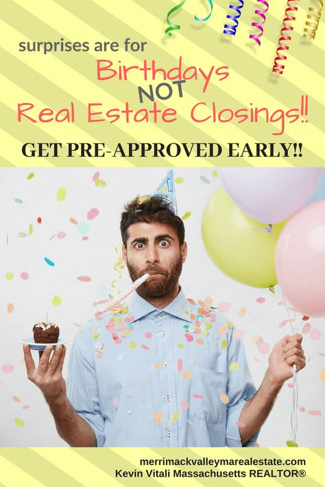 Get Pre-Approved Early To Save Time, Money and Aggravation