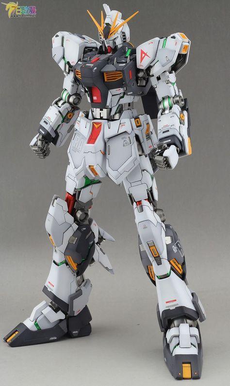 GUNDAM GUY: MG 1/100 Nu Gundam Ver. Ka - Customized Builds