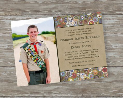 Eagle Scout Invitations - several designs