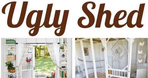 10 Stunning Ways Tp Transform An Ugly Shed #DIYHSH #SheShed #ManCave #TinyHome #ShedRemodel #ShedMakeover #DIY