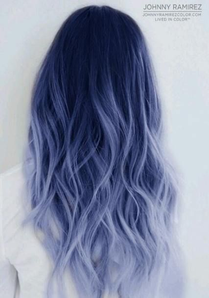 Hair Blue Black Haircolor 25 Ideas Silver Hair Color Hair Dye