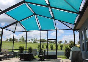 Florida Lanai Curtains Llc Outdoor Curtains Privacy Shade Screen Enclosure Patio Lanai Google Local In 2020 Shade Sail Florida Pool Outdoor Privacy