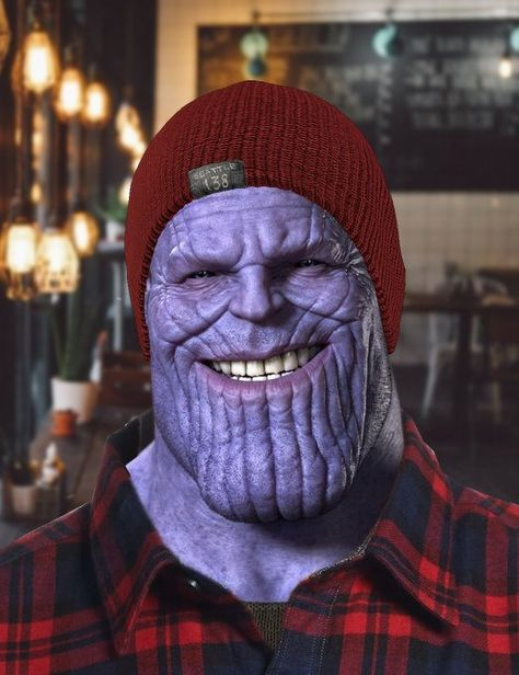 Hipster Thanos