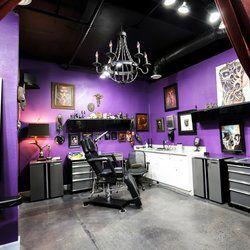 16 best tattoo shop ideas images on Pinterest | Tattoo studio ...