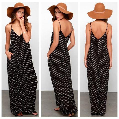 75c1ca74b216d Women Chiffon Backless Sling Strap Back Clubwear Evening Mini Beach Dress
