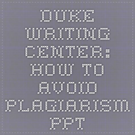 ways to avoid plagiarism in academic writing