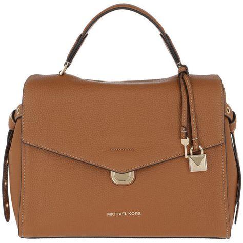 6cabd9794a Michael Kors Handle Bag - Bristol MD TH Satchel Bag Acorn - in cognac...  (3