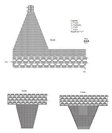 Diseños Tejidos Patrones A Bikinis De Esquemas Crochet Y W9EHI2D