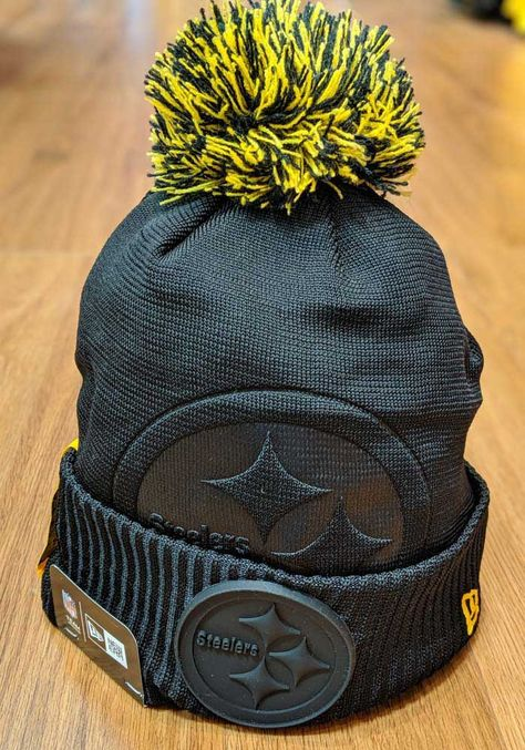 Steelers Gifts, Steelers T Shirts, Go Steelers, Pitt Steelers, Steelers Stuff, Pittsburgh Steelers Hats, Pittsburgh Steelers Wallpaper, Nfl Football, Knit Hat For Men