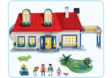 Playmobil 3965 Einfamilienhaus Http Www Playmodb Org Cgi Bin Showinv Pl Setnum 3965 Pics On Playmobil Play Mobile Kinderzimmer Deko Basteln