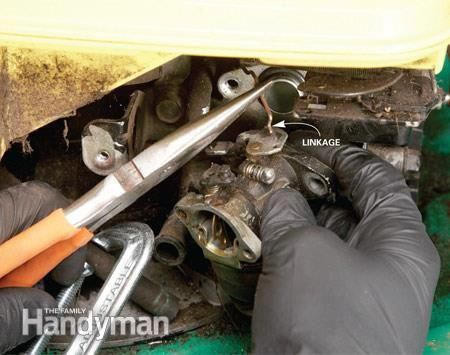How To Repair Small Engines Cleaning The Carburetor Lawn Mower Repair Small Engine Engine Repair