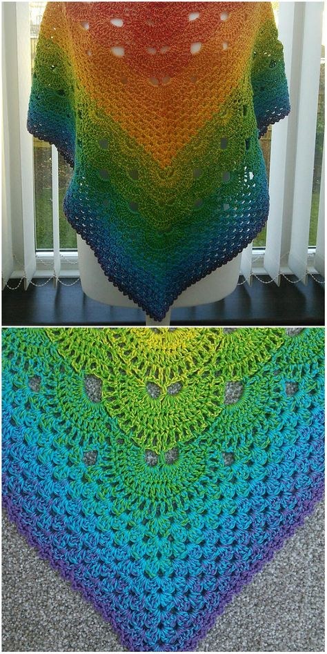 Starting with a Granny Shawl Crochet