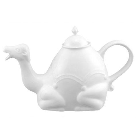 White camel teapot