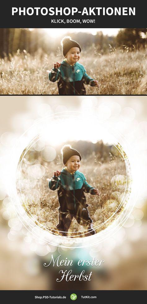 Photoshop-Aktionen für Fotoeffekte, Texteffekte