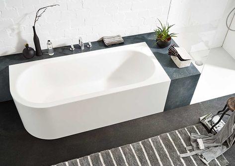 Ideen Fur Freistehende Badewanne An Der Wand Von Mauersberger