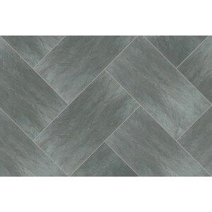 Style Selections 1 Piece 12 In X 24 In Groutable Symphony Gray Peel Lowes Com Vinyl Tile Grey Vinyl Flooring Peel And Stick Floor