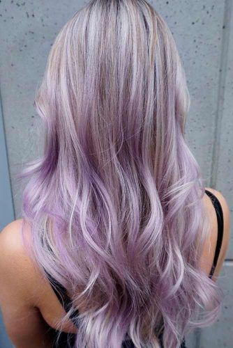 15 Gorgeous Options For Purple Ombre Hair Pastel Purple Hair