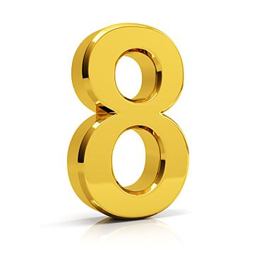 Gold Number 8 8 Number Number 8 Png Transparent Clipart Image And Psd File For Free Download Best Vpn 10 Things Linux