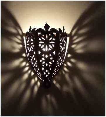 Oriental marocaine Orient murale éclairage mural lampe vintage Intérieur DEL