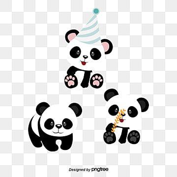 Panda Panda Clipart Hand Painted Panda Png Transparent Clipart Image And Psd File For Free Download In 2021 Cartoon Panda Panda Baby Panda