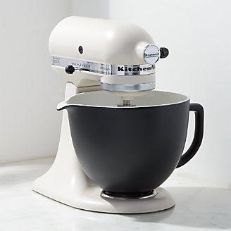 Kitchenaid Ceramic Matte Black Bowl Kitchen Aid Matte Black Kitchen Kitchenaid Mixer Colors