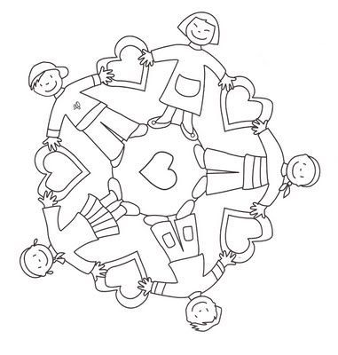 World Thinking Day Mandala Coloring Page 8 Crafts And