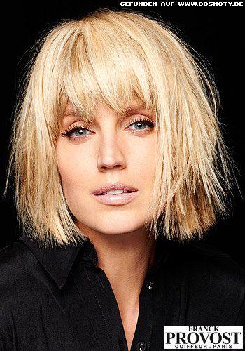 Frisuren Bilder Glatter Stufen Bob Mit Dichtem Fransenpony Frisuren Haare Haarschnitt Pinterest Frisuren Frisur Ideen