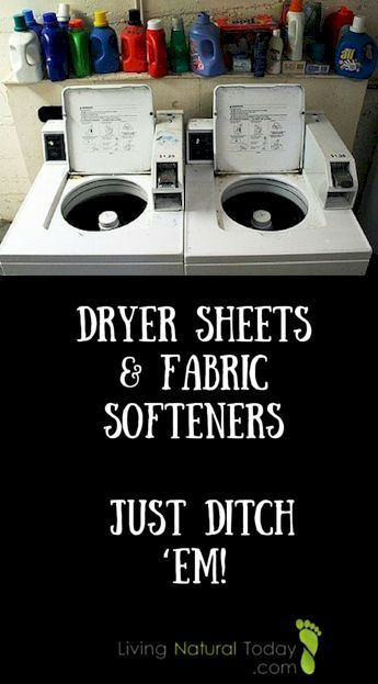 Are Dryer Sheets And Fabric Softeners Toxic Yes Just Ditch Em