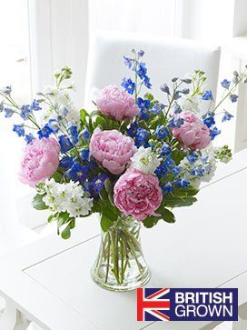 Interflora British Country Garden Hand Tied Flowers Delivered Flower Arrangements Order Flowers Online