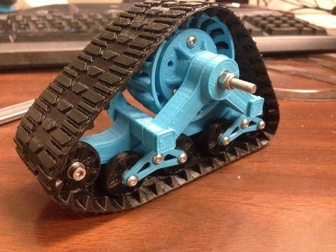 3d Printed Mattracks For Rc Car In 1 10 Scale 3dprintingprojects 3d Printing 3d Printing Diy 3d Printer
