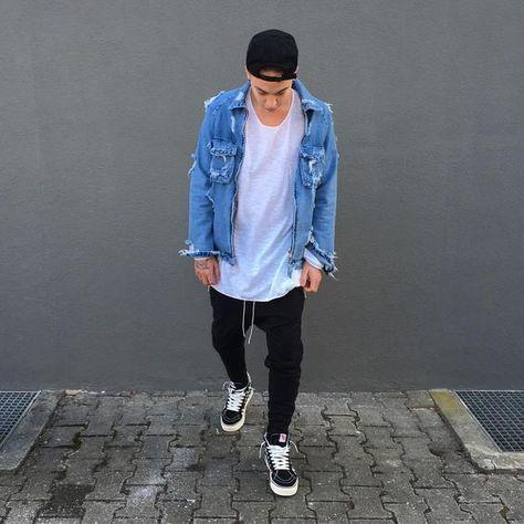 Dicas para Usar Bonés! Macho Moda - Blog de Moda Masculina: DICAS PARA USAR BONÉ - Combinações de Cores. Como combinar Boné com a Roupa? Estilo Masculino, Moda para Homens, Vans Sk8 Hi, Jaqueta Jeans, Streetwear