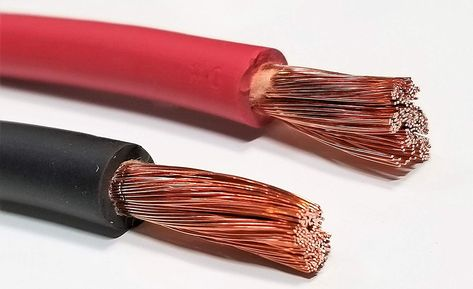 WELDING CABLE 6 AWG BLACK Per-Foot CAR BATTERY LEADS USA NEW Gauge Copper