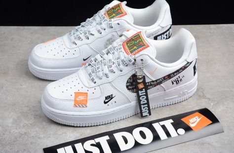 Another Nike Air Force 1 Low 'Just Do It' Colorway Appears