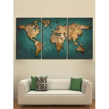 Free shipping 2018 World Map Pattern Unframed Canvas ... on world maps history, world maps religion, old world map sale, world maps france, world maps software, world map globe sale, world maps games, world maps art, world maps furniture, world maps books,