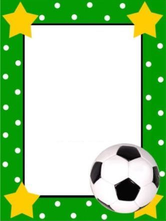 Invitaciones Futbol Estrellas Invitaciones De Fútbol