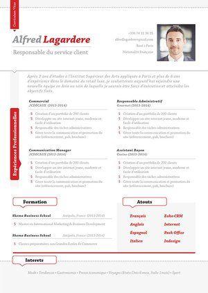 Cv Design Un Curriculum Vitae Au Style Unique Et Aux Couleurs Tendance Modele Cv Exemple Cv Cv Classique