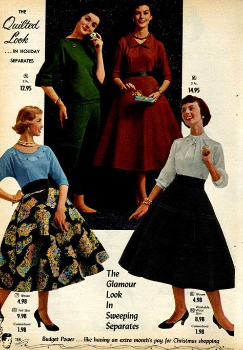 Fashion In The 1950s Clothing Styles Trends Pictures History 1950s Fashion Women 1950s Fashion Fashion