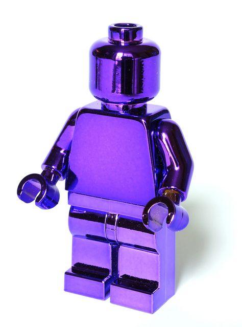 Purple Lego, Love it!