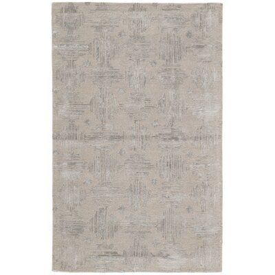 Jaipur Living Pangle Hand Tufted Simply Taupe Charcoal Gray Area